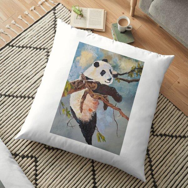 Happy Panda Floor Pillow