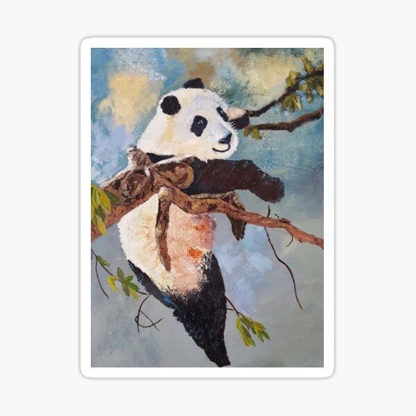 Happy Panda Sticker