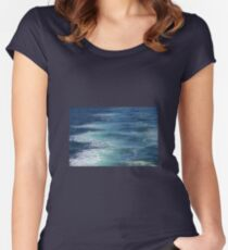 Water Colours Women's Fitted Scoop T-Shirt