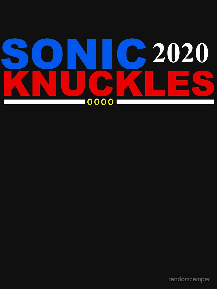 Sonic/Knuckles 2020 by randomcamper
