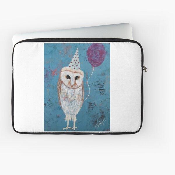 Party Owl Laptop Sleeve