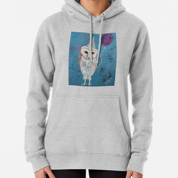 Party Owl Pullover Hoodie