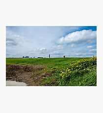 Portrane Round Tower Photographic Print