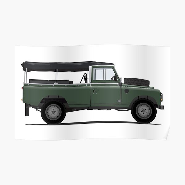 Land Rover Series III Poster