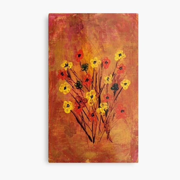 Poppies Acrylic Art Metal Print