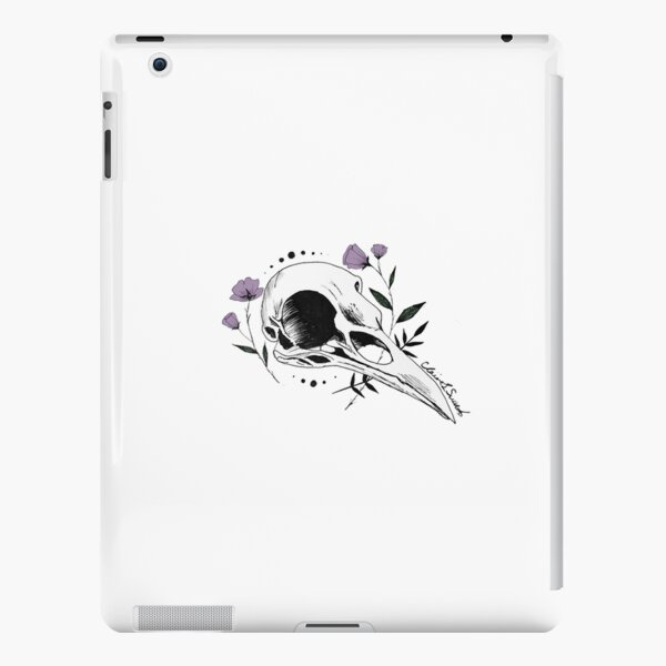 Raven Skull with Lilac iPad Snap Case