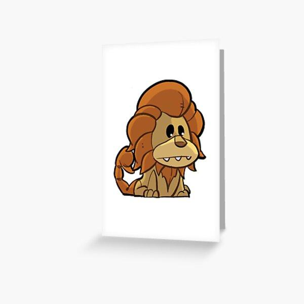 Manticore Greeting Card