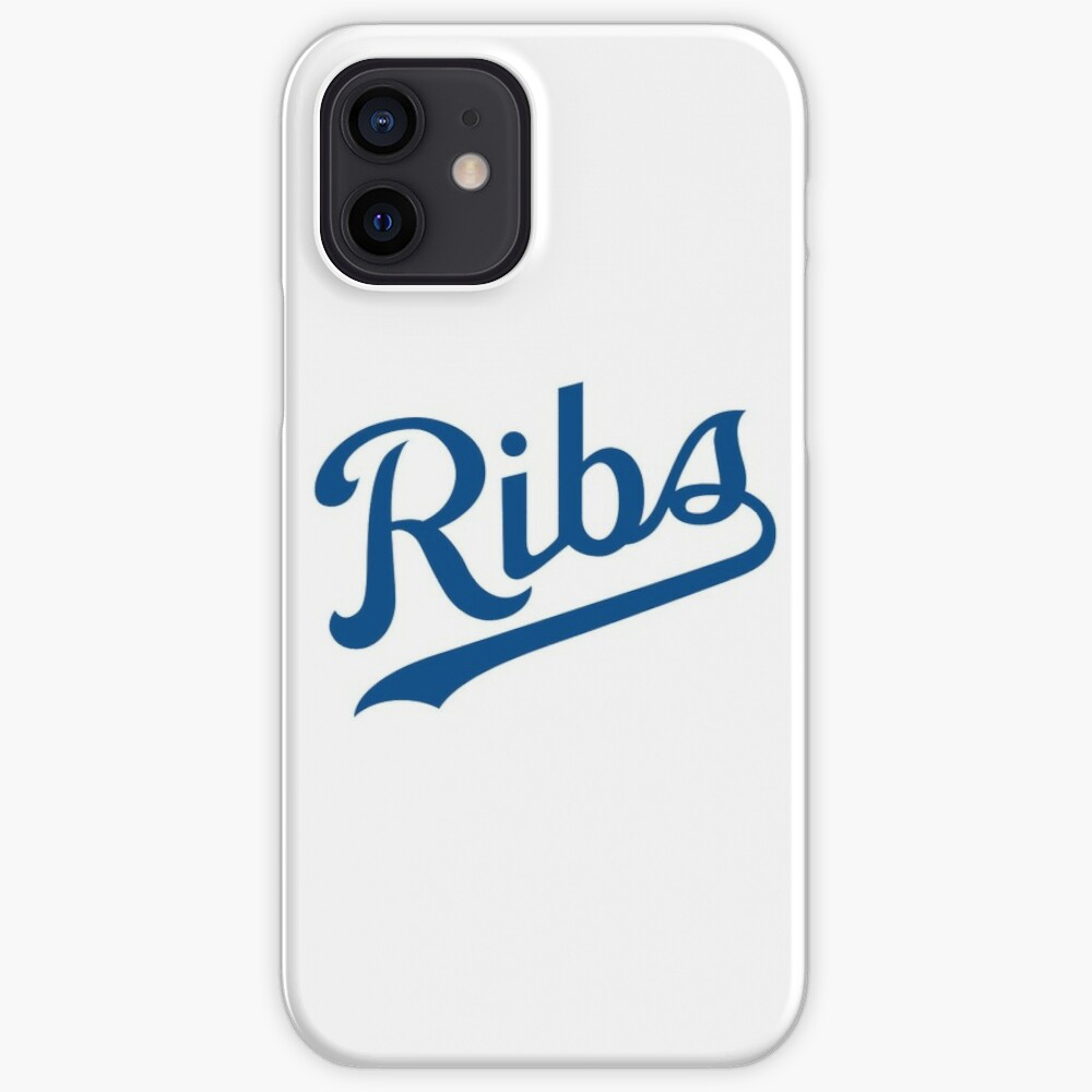 KC Ribs - White 1 iPhone Case & Cover