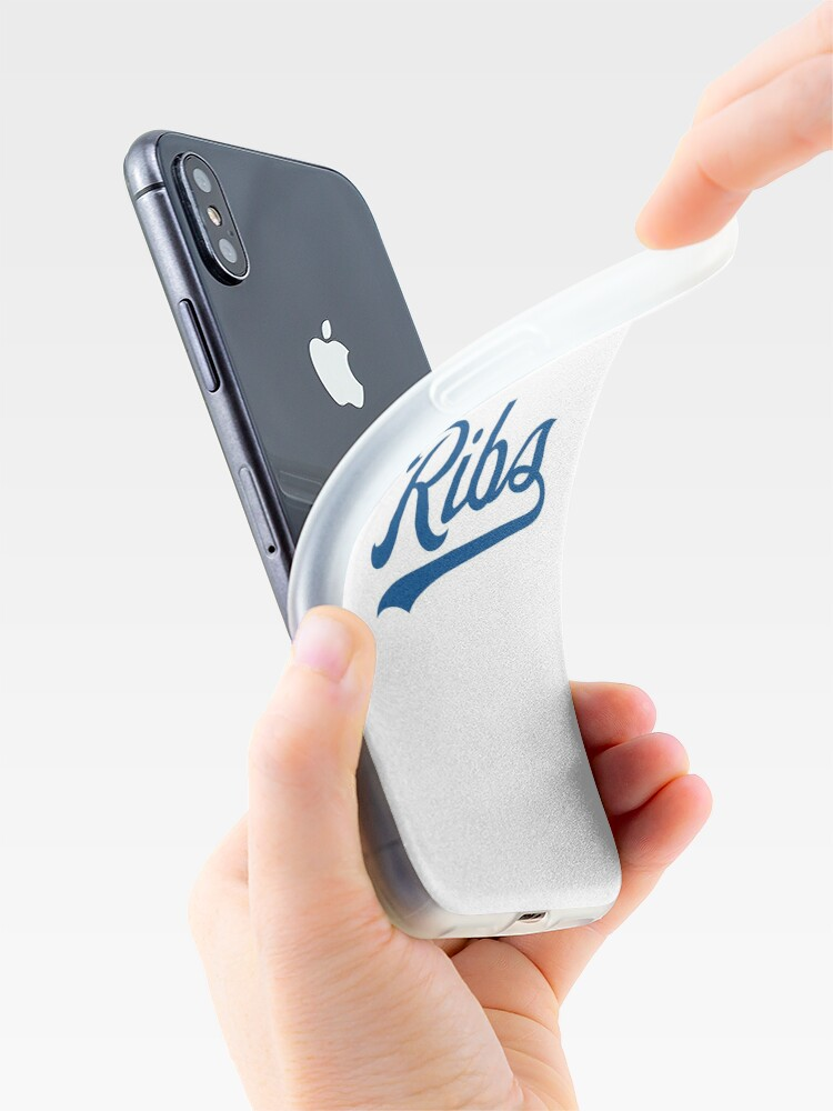 Alternate view of KC Ribs - White 1 iPhone Case & Cover