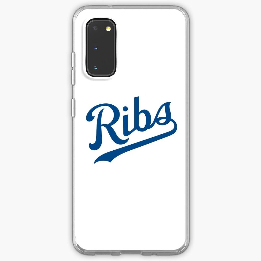 KC Ribs - White 1 Case & Skin for Samsung Galaxy