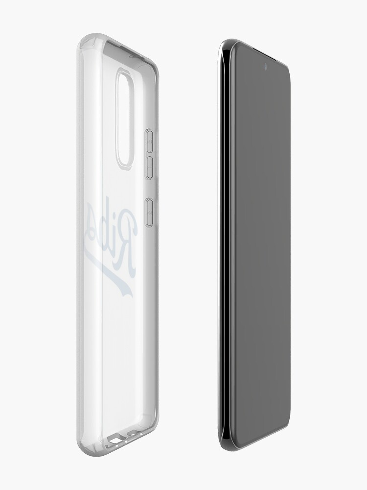 Alternate view of KC Ribs - White 1 Case & Skin for Samsung Galaxy