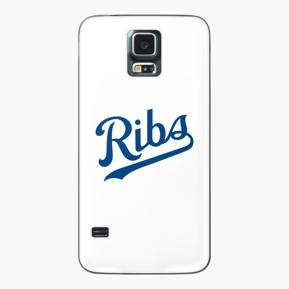 KC Ribs - White 1 Case & Skin for Samsung Galaxy