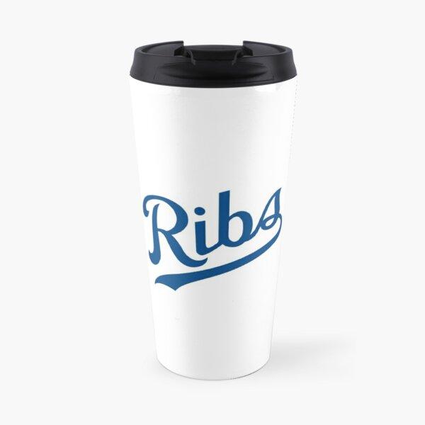 KC Ribs - White 1 Travel Mug