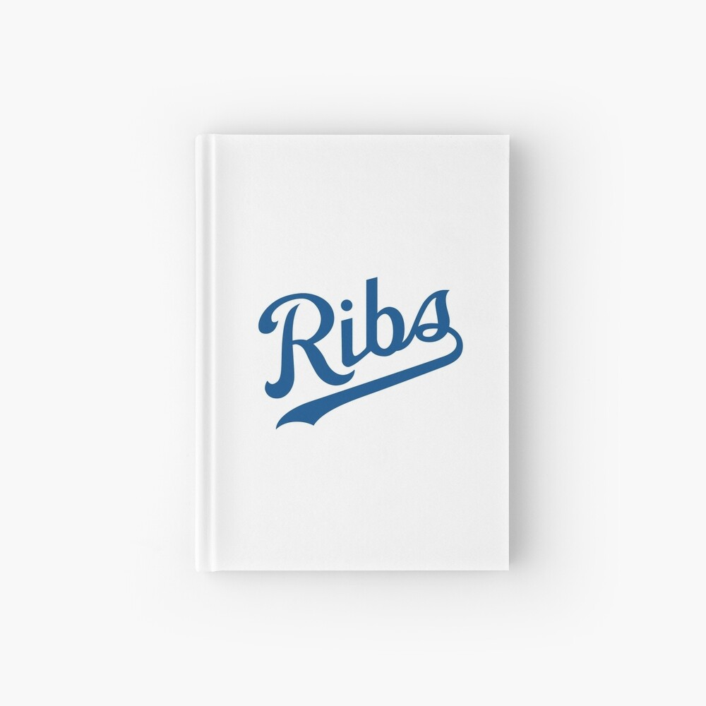 KC Ribs - White 1 Hardcover Journal