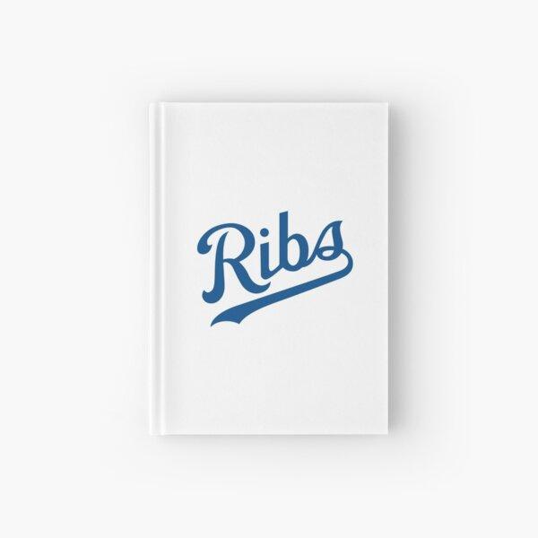 KC Ribs - White 1 Hardcover Journal