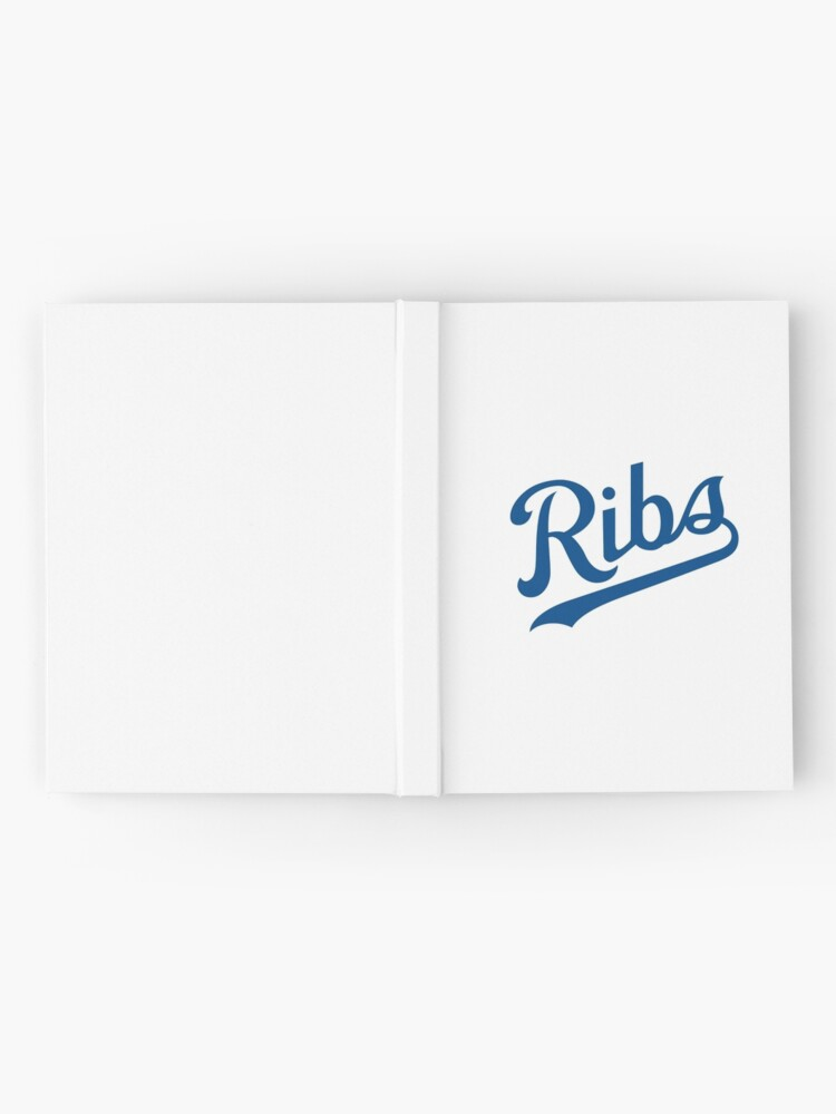 Alternate view of KC Ribs - White 1 Hardcover Journal