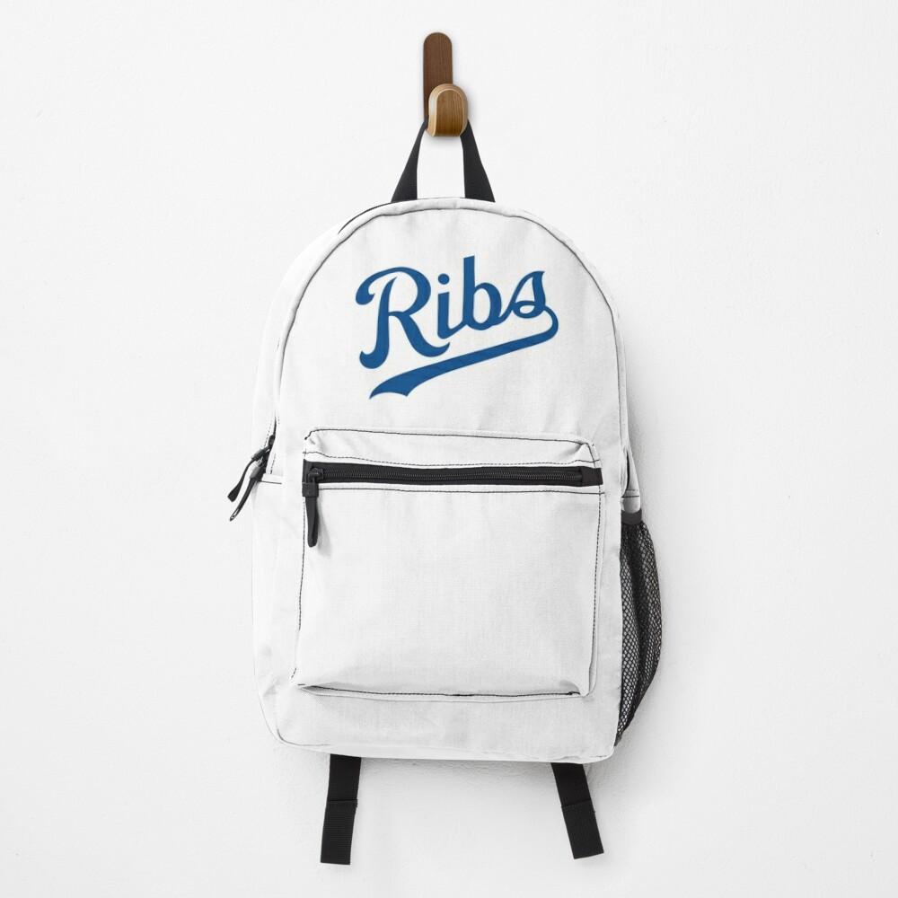 KC Ribs - White 1 Backpack