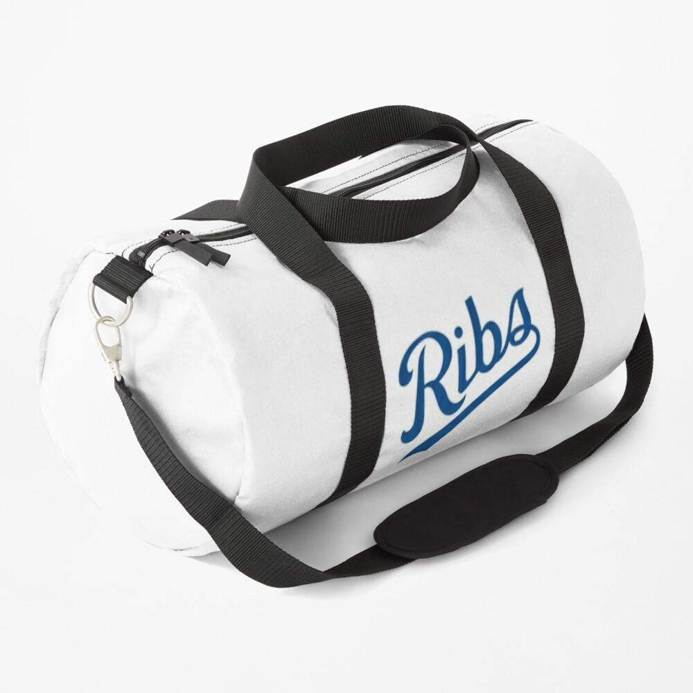KC Ribs - White 1 Duffle Bag