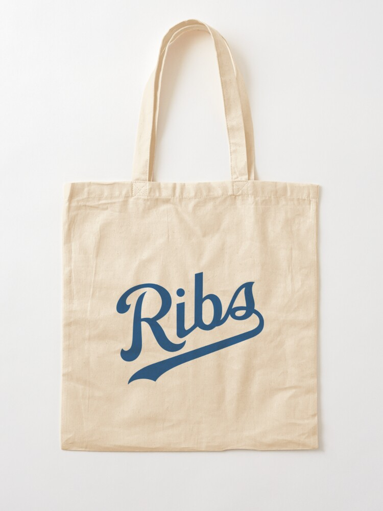 Alternate view of KC Ribs - White 1 Tote Bag