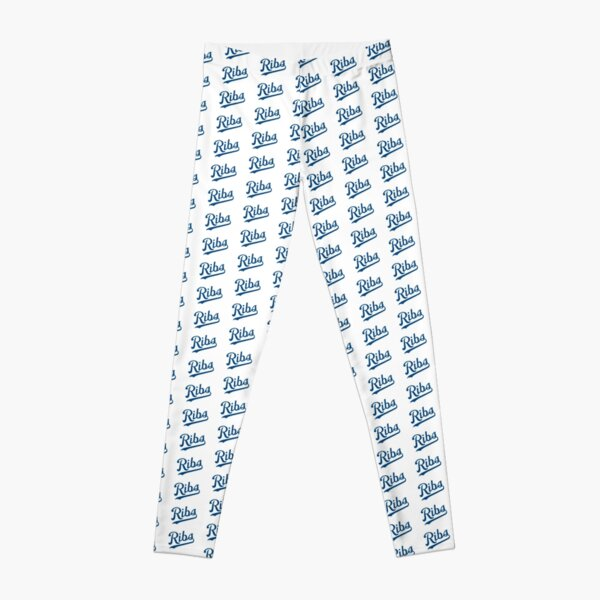KC Ribs - White 1 Leggings