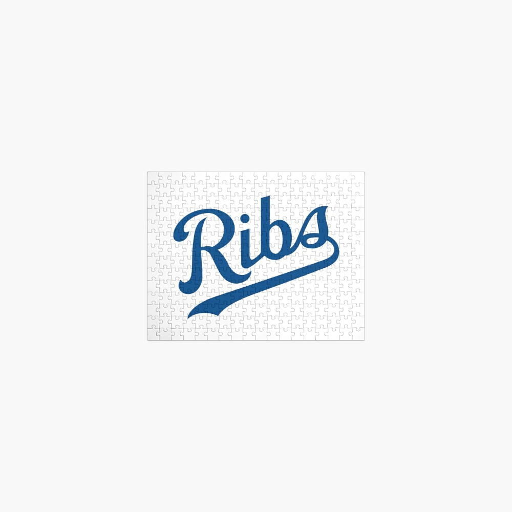 KC Ribs - White 1 Jigsaw Puzzle