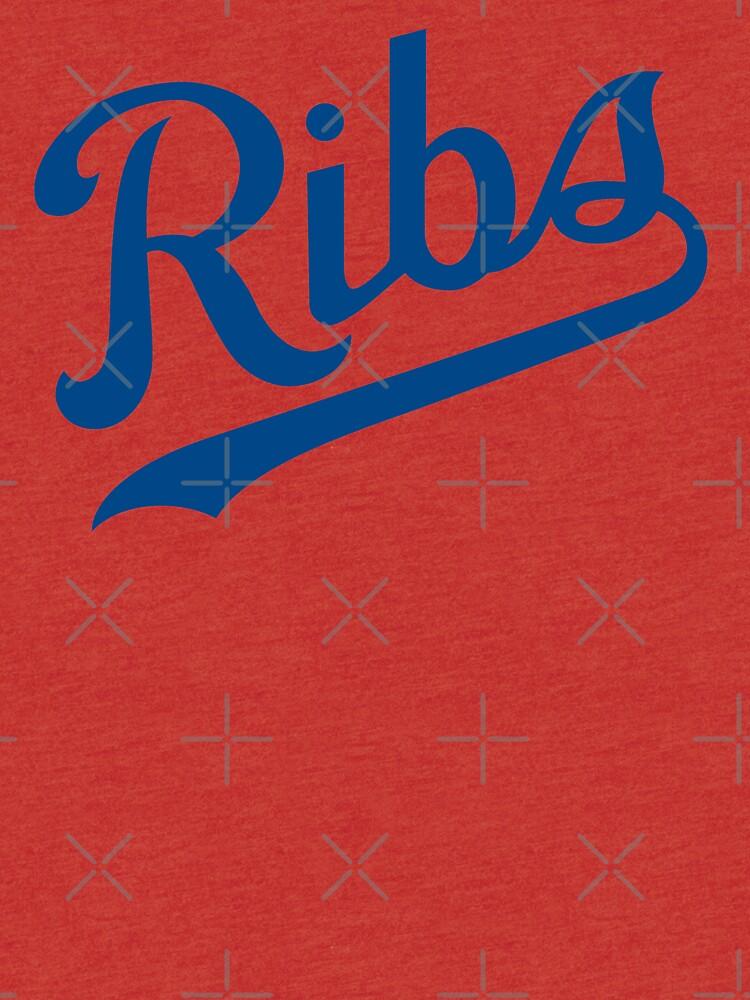 KC Ribs - White 1 by SaturdayAC