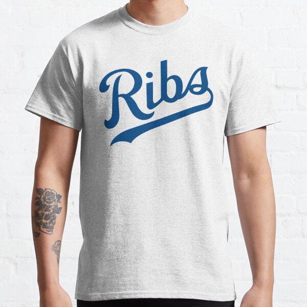 KC Ribs - White 1 Classic T-Shirt