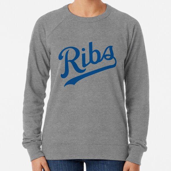 KC Ribs - White 1 Lightweight Sweatshirt