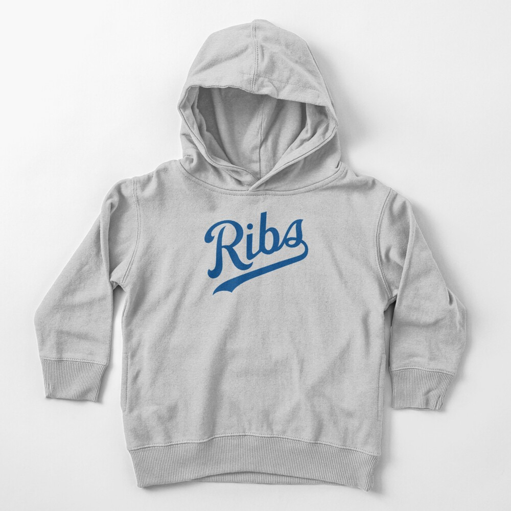 KC Ribs - White 1 Toddler Pullover Hoodie