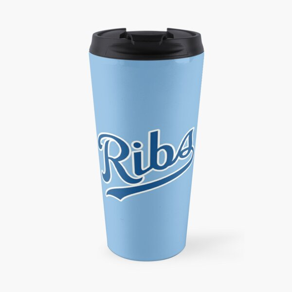 KC Ribs - Powder Blue 1 Travel Mug