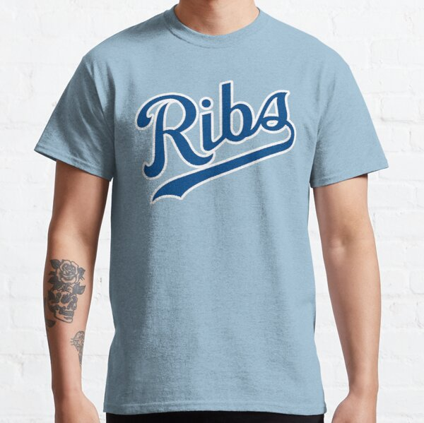 KC Ribs - Powder Blue 1 Classic T-Shirt