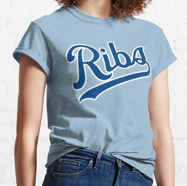 KC Ribs - Powder Blue 1 Classic T-Shirt