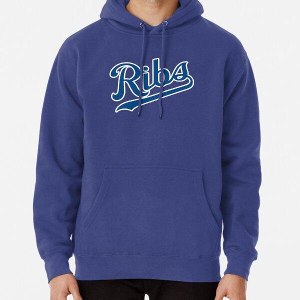 KC Ribs - Powder Blue 1 Pullover Hoodie
