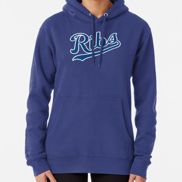 KC Ribs - Powder Blue 1 Pullover Hoodie