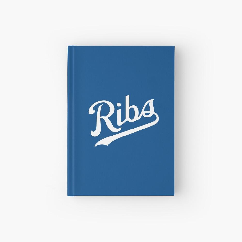 KC Ribs - Blue 1 Hardcover Journal