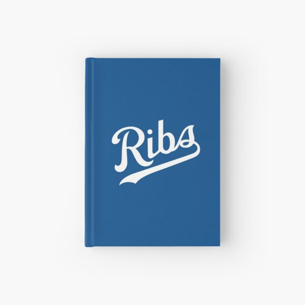 KC Ribs - Blue 1 Hardcover Journal
