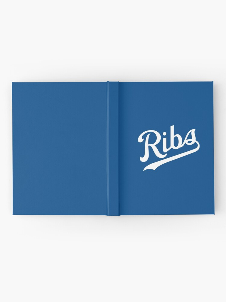 Alternate view of KC Ribs - Blue 1 Hardcover Journal