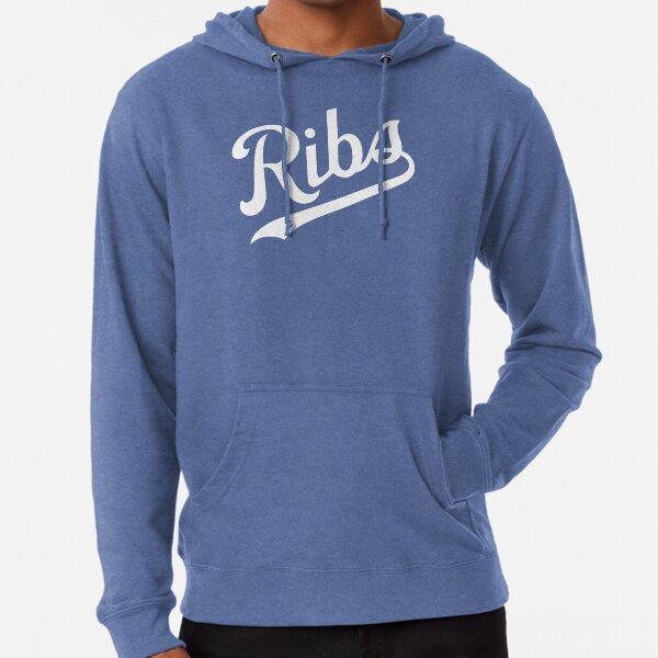 KC Ribs - Blue 1 Lightweight Hoodie