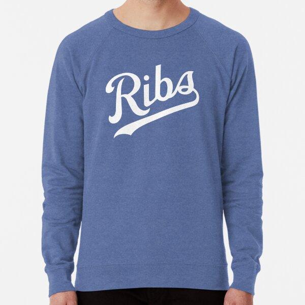 KC Ribs - Blue 1 Lightweight Sweatshirt