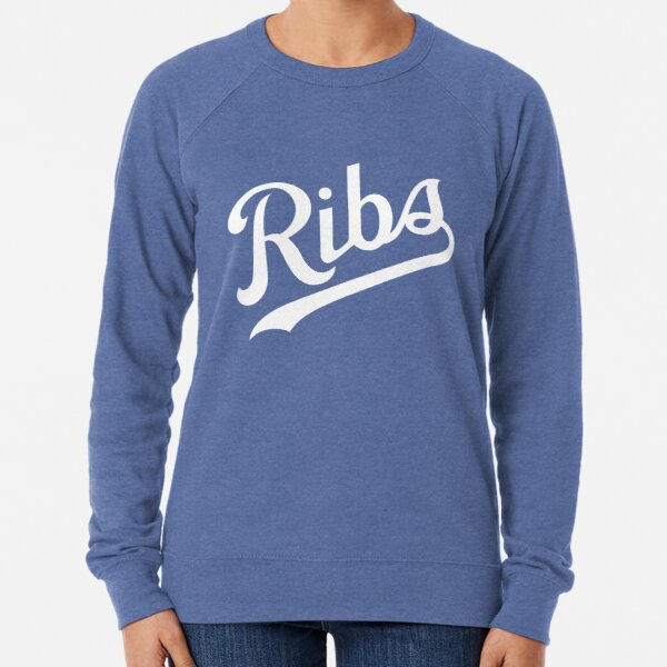 KC Ribs - Blue 1 Lightweight Sweatshirt