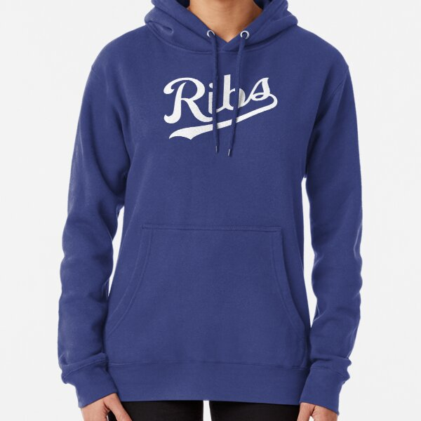 KC Ribs - Blue 1 Pullover Hoodie