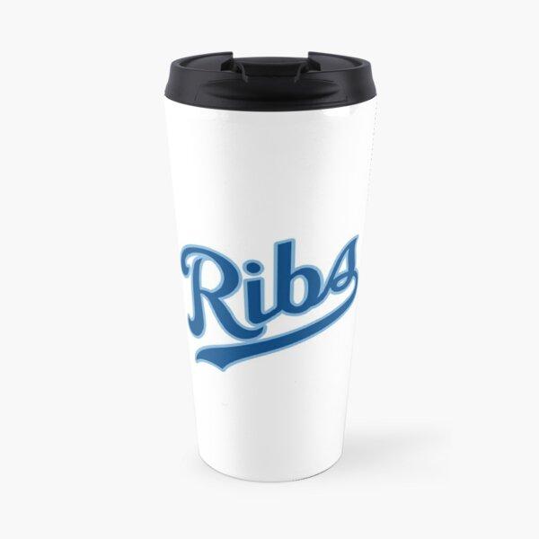 KC Ribs - White 2 Travel Mug