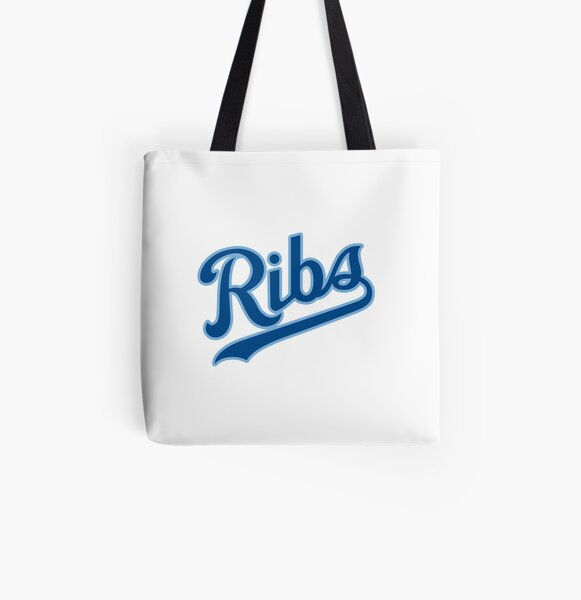 KC Ribs - White 2 All Over Print Tote Bag