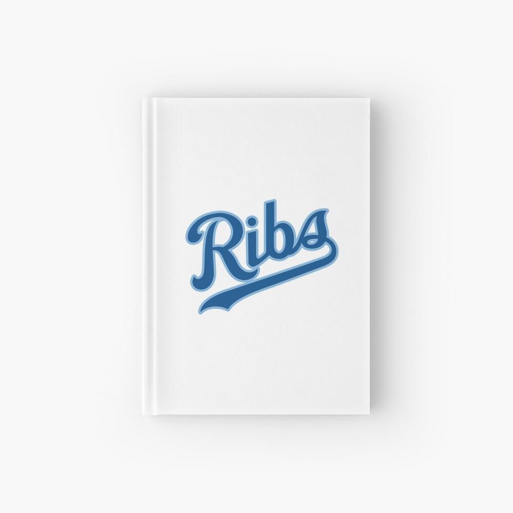 KC Ribs - White 2 Hardcover Journal
