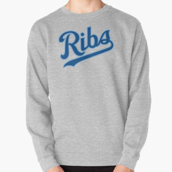 KC Ribs - White 2 Pullover Sweatshirt