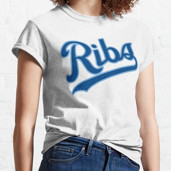 KC Ribs - White 2 Classic T-Shirt