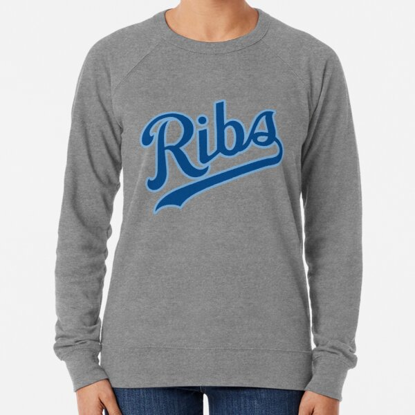 KC Ribs - White 2 Lightweight Sweatshirt