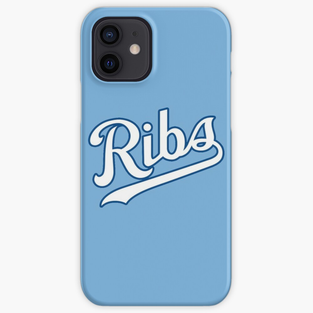 KC Ribs - Powder Blue 2 iPhone Case & Cover