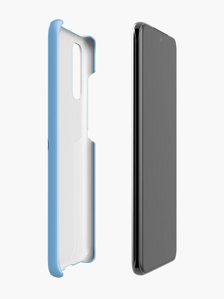 Alternate view of KC Ribs - Powder Blue 2 Case & Skin for Samsung Galaxy