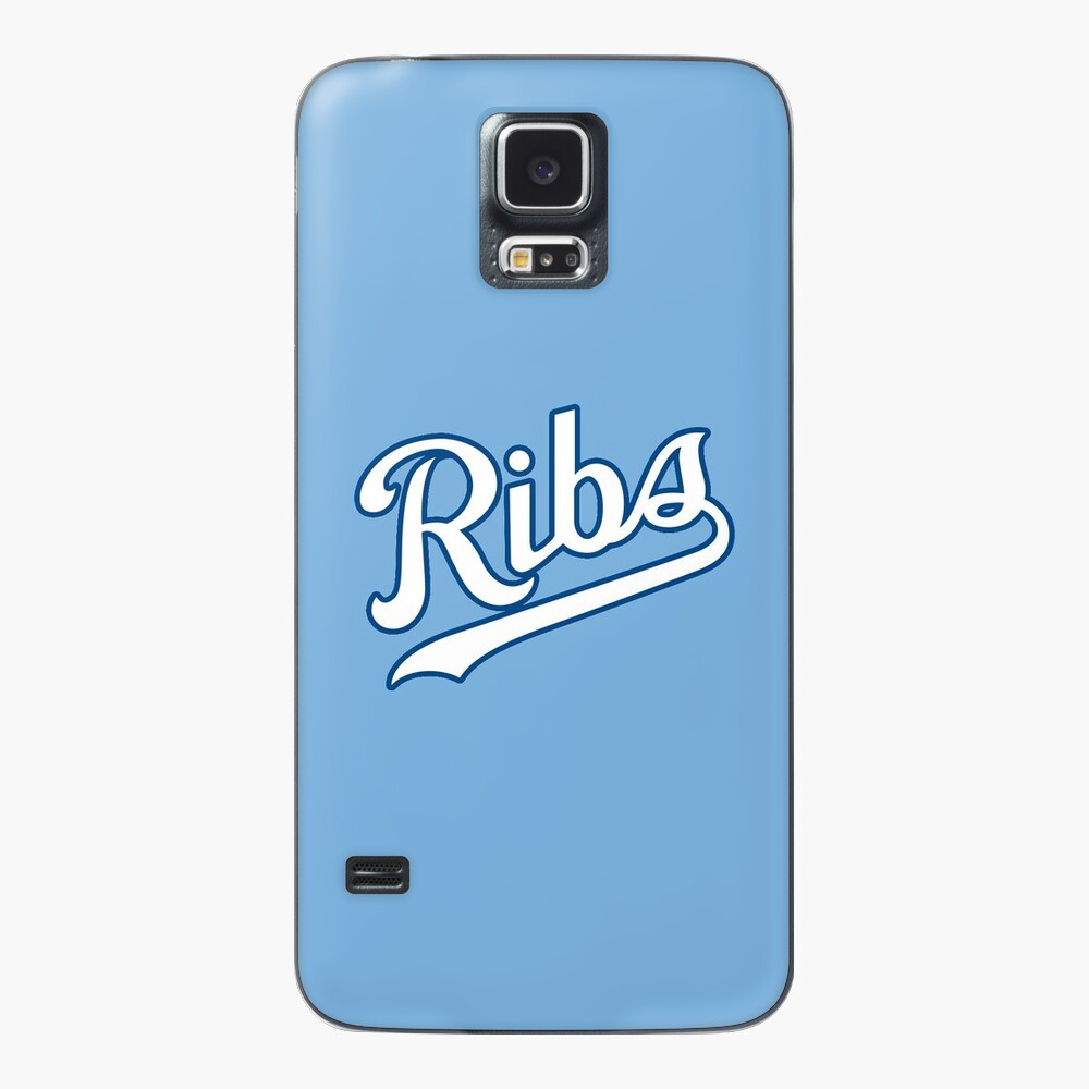 KC Ribs - Powder Blue 2 Case & Skin for Samsung Galaxy